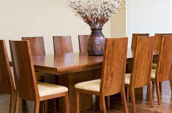 Bộ bàn ăn gỗ 10 ghế đẹp
