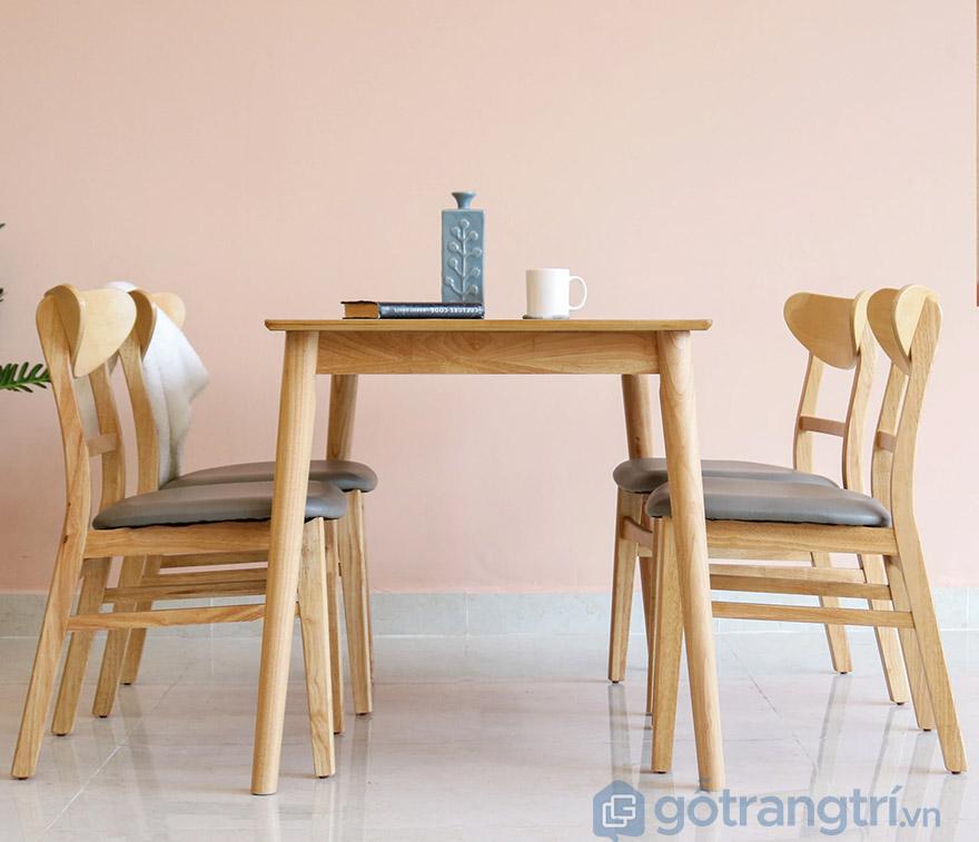 bộ bàn ăn mango 4 ghế hà nội