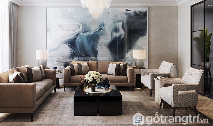 Cách bố trí sofa phòng khách