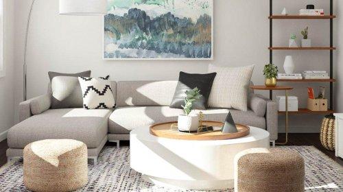 Cách bố trí sofa phòng khách nhỏ