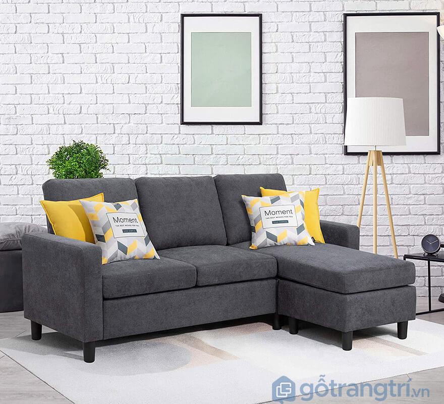 cách kê sofa phòng khách nhà ống