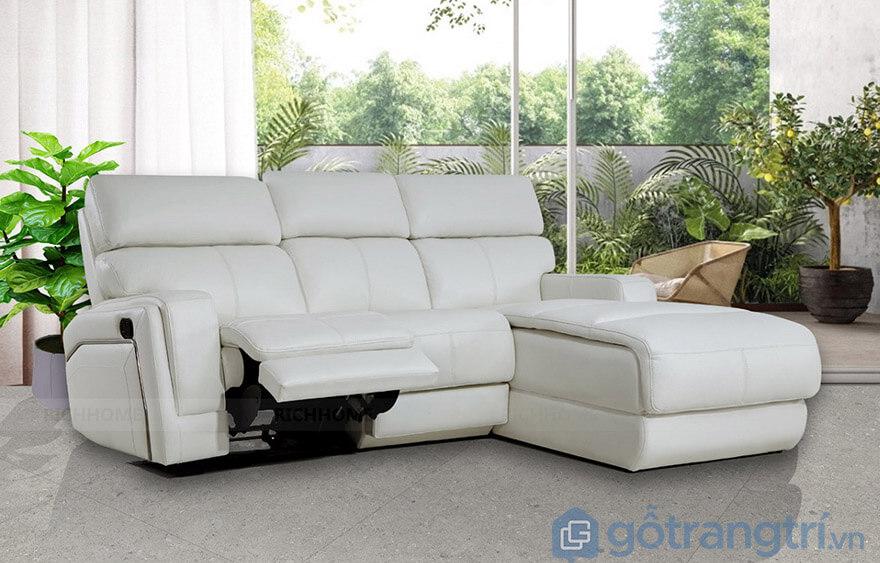 ghế sofa nằm xem tivi