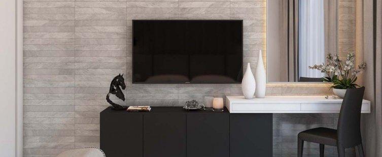 kệ tivi kết hợp bàn trang điểm