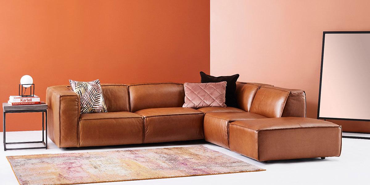 sofa góc da giá rẻ
