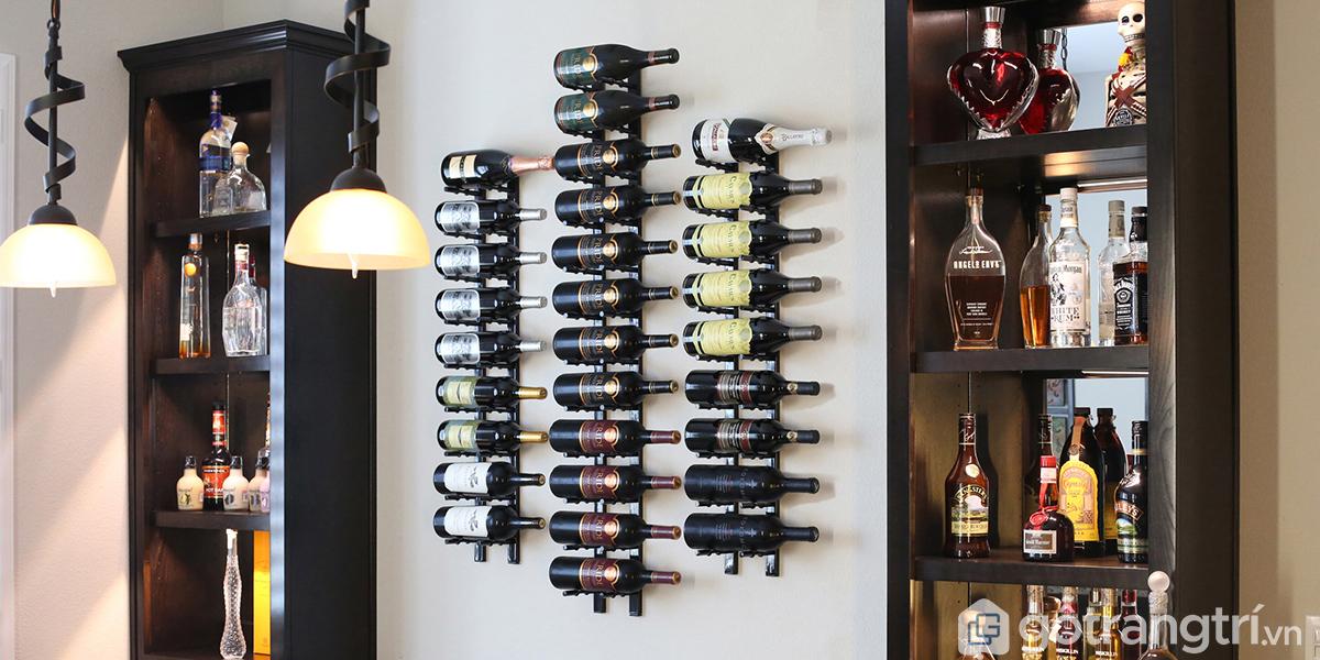 Thiết kế tủ rượu đẳng cấp