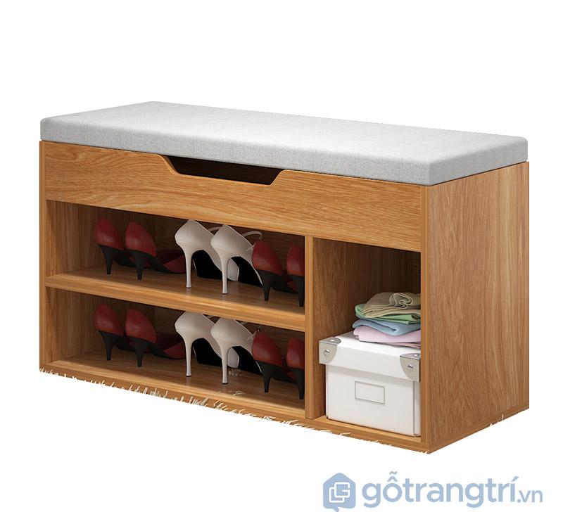 tủ giày gỗ xoan đào