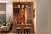 tủ rượu gỗ xoan đào