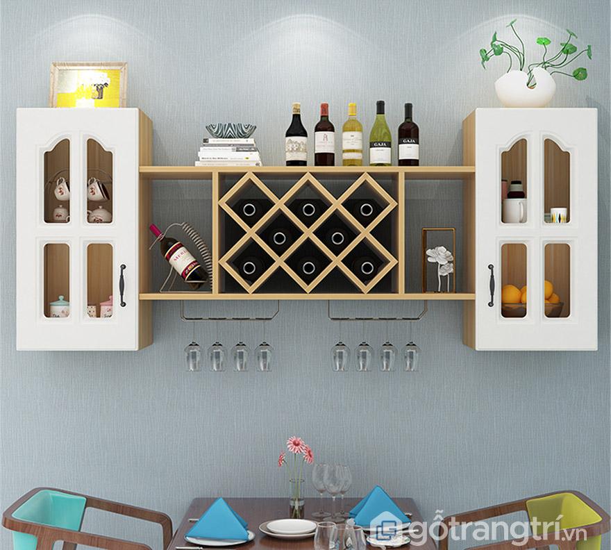 tủ rượu tân cổ điển