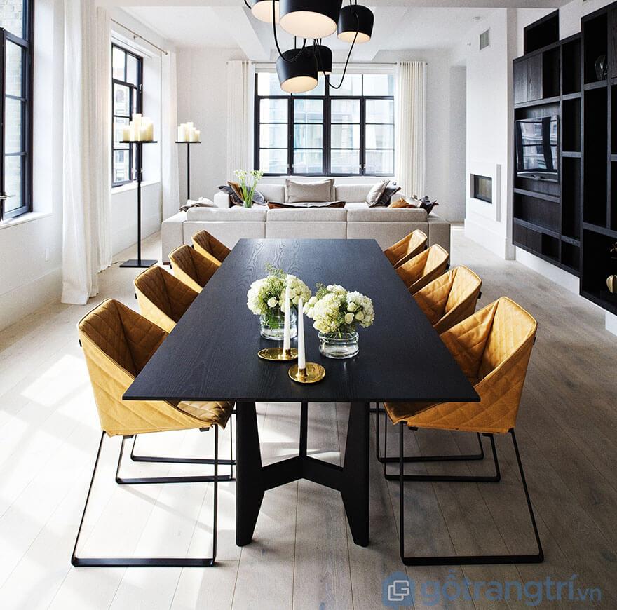 Các mẫu bàn ăn 8 ghế hiện đại