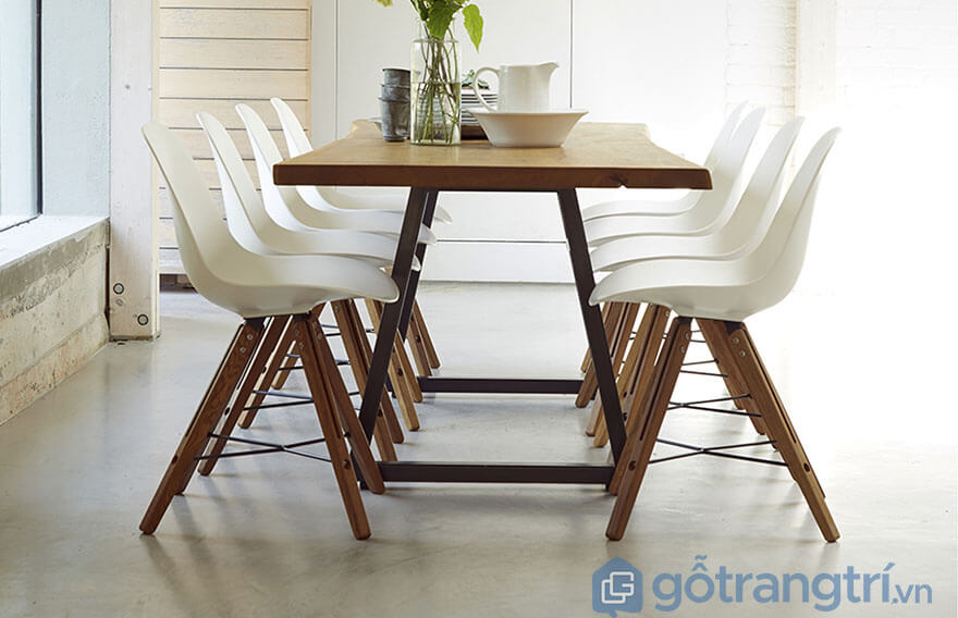 Bộ bàn ăn 8 ghế hiện đại