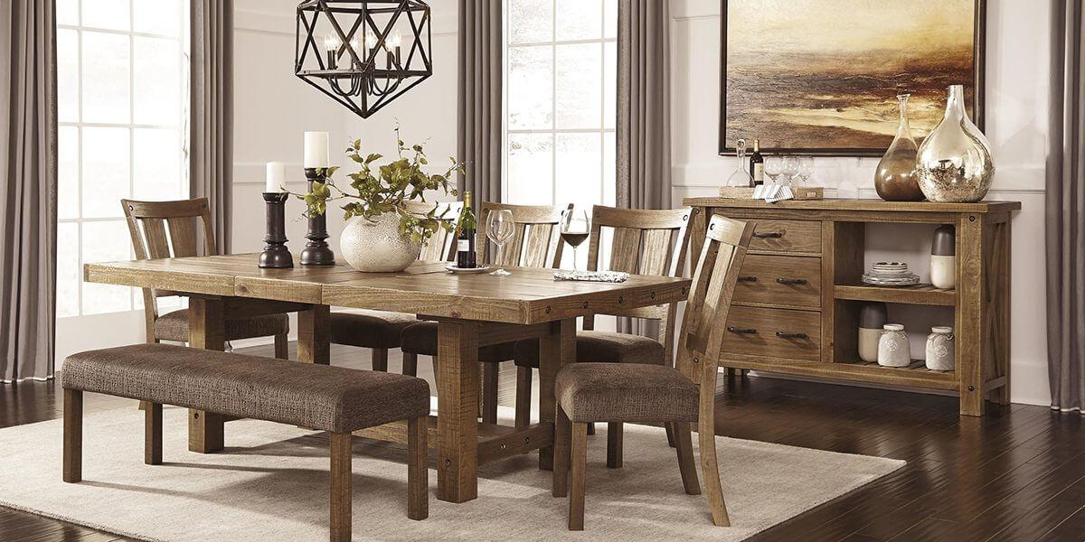 bàn ăn gỗ hương xám