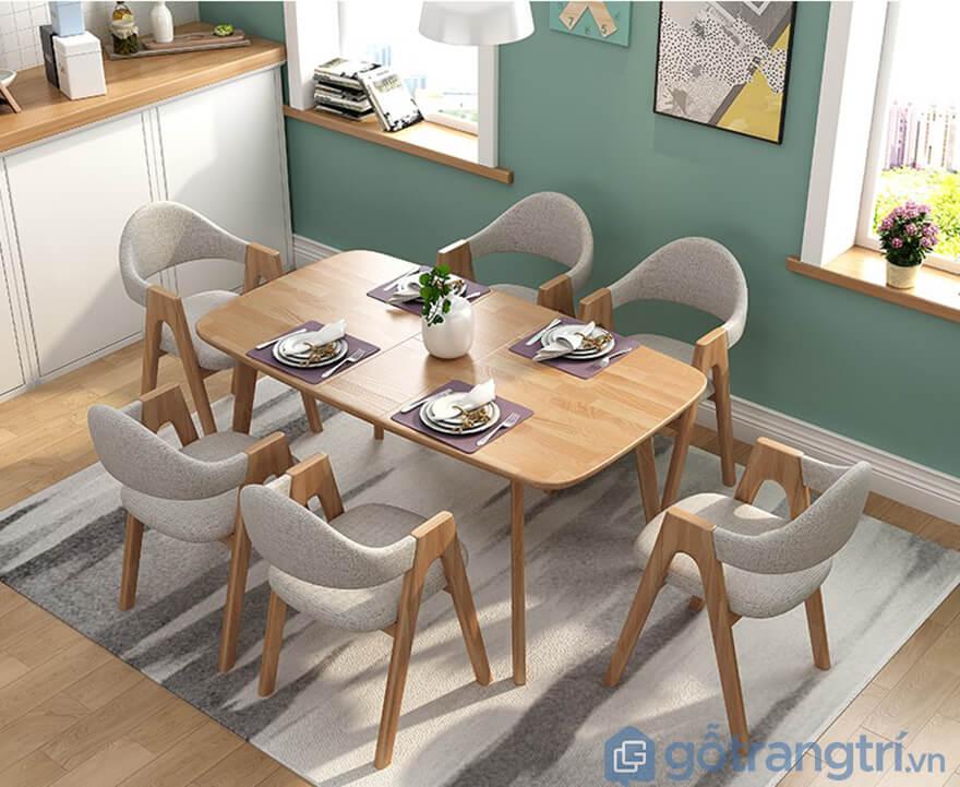 Bộ bàn ghế ăn cơm giá rẻ