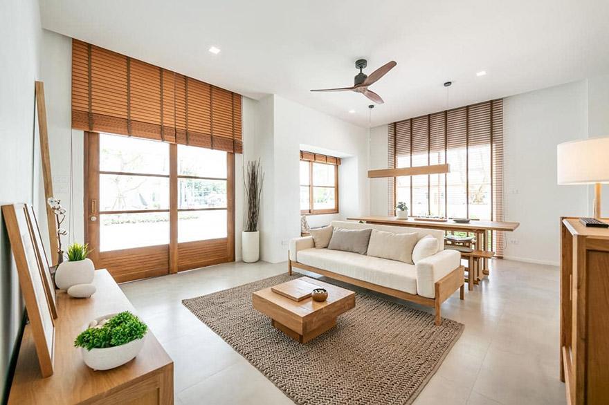 Không gian nội thất gỗ