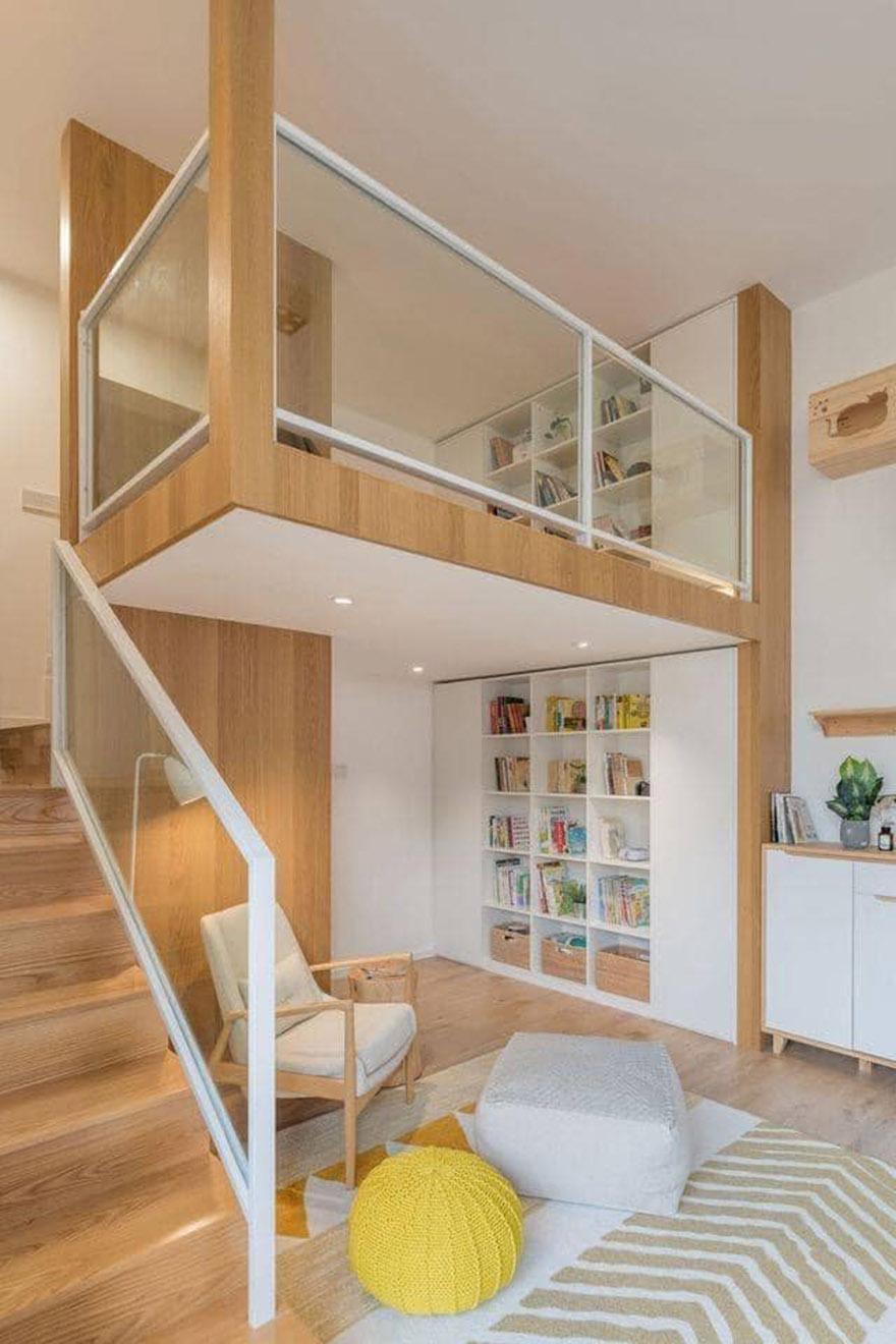 Thiết kế căn hộ có gác lửng