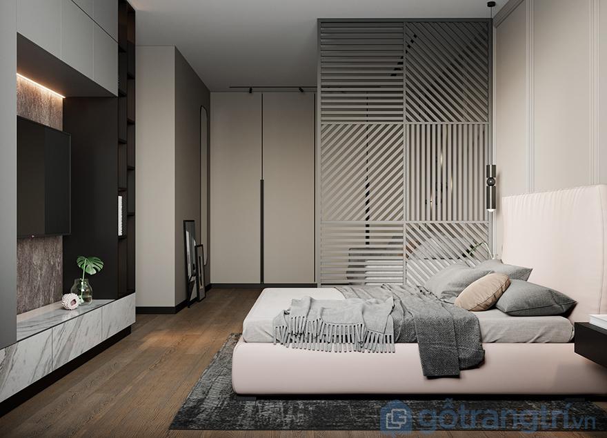 Vách ngăn phòng ngủ giá rẻ