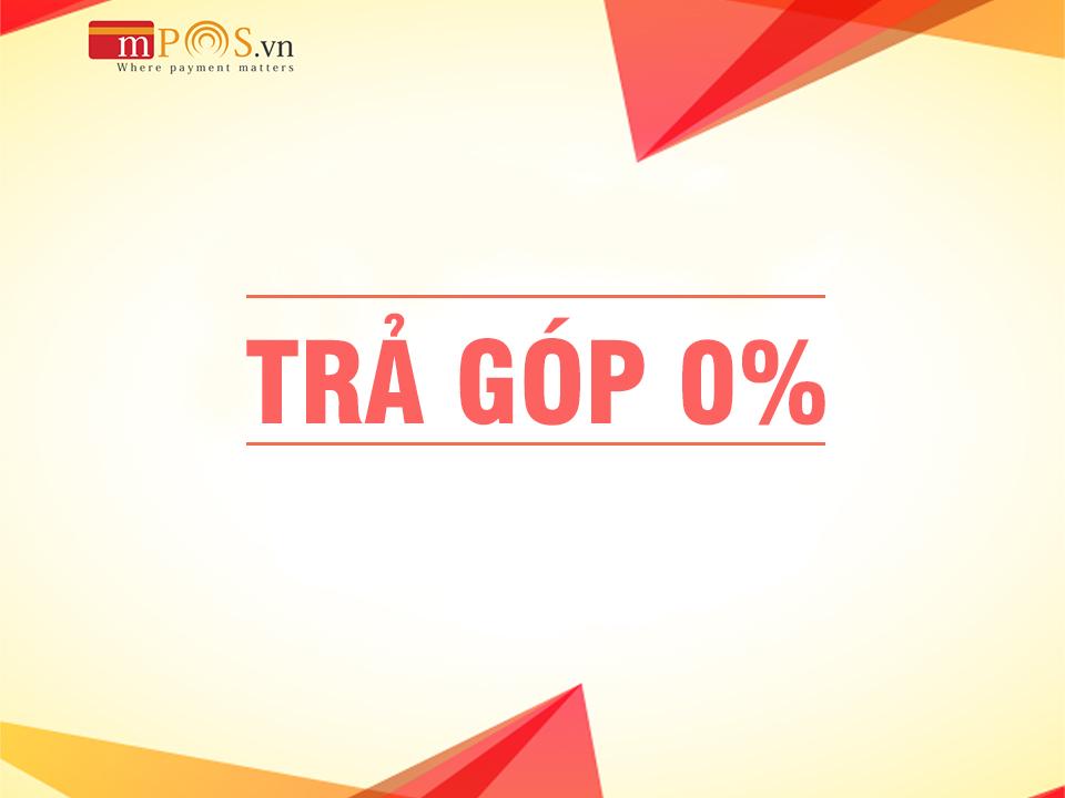 Thanh toán trả góp 0% tại gotrangtri.vn