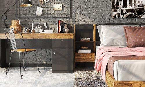 Cách bố trí bàn làm việc trong phòng ngủ