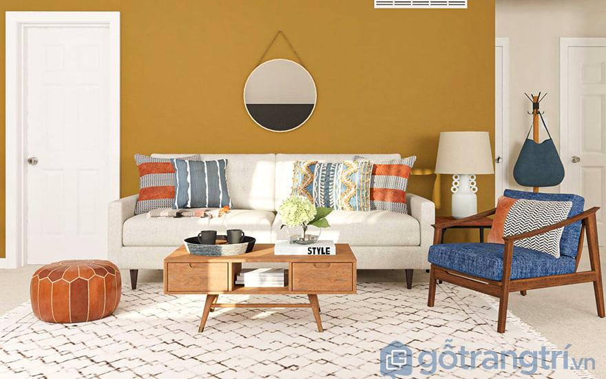 Cách chọn thảm trải sàn phòng khách