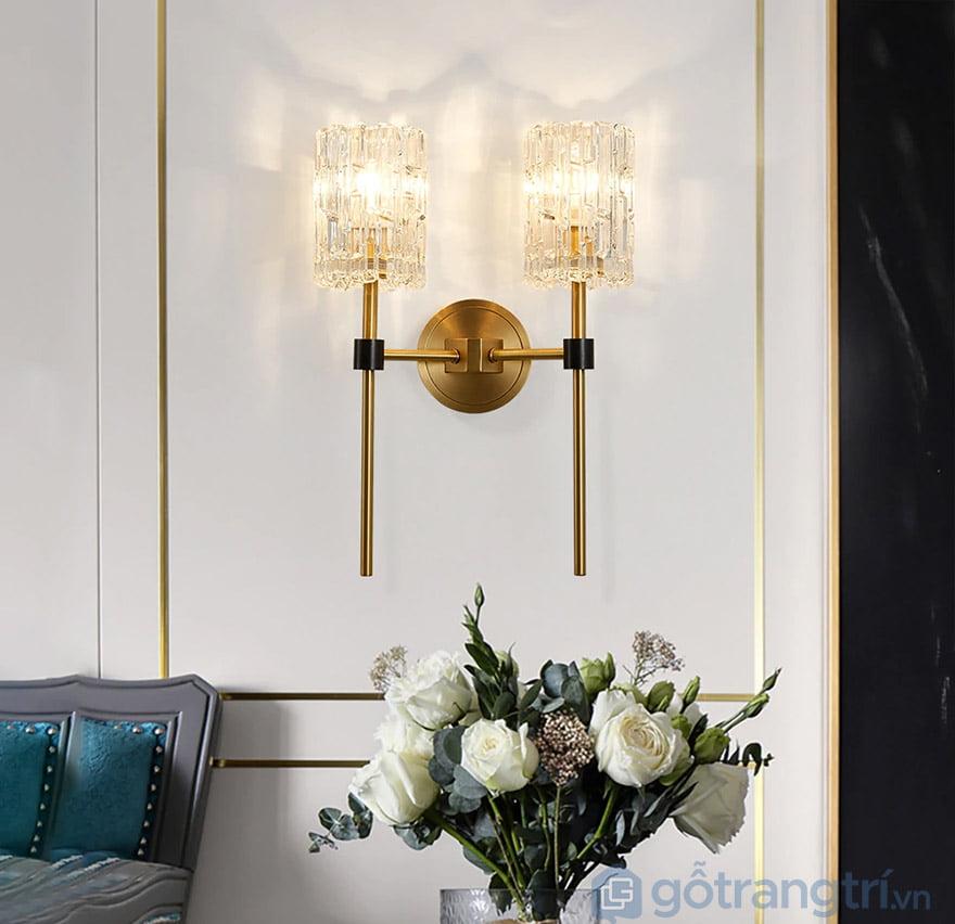 đèn tường trang trí phòng khách