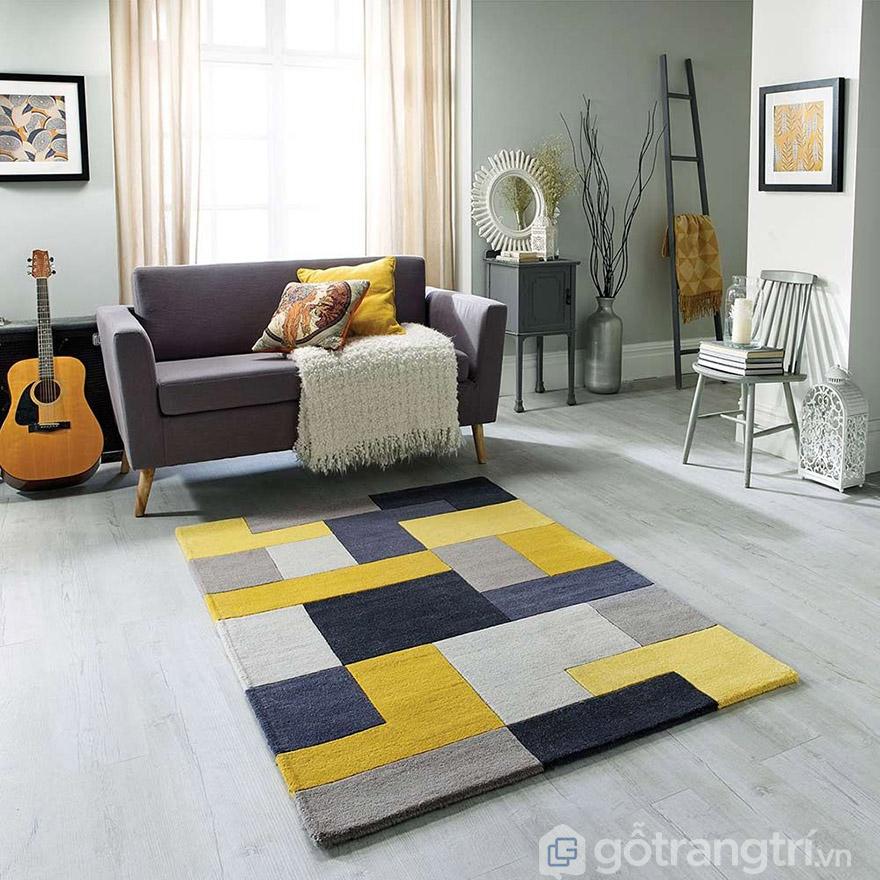 kích thước thảm phòng khách