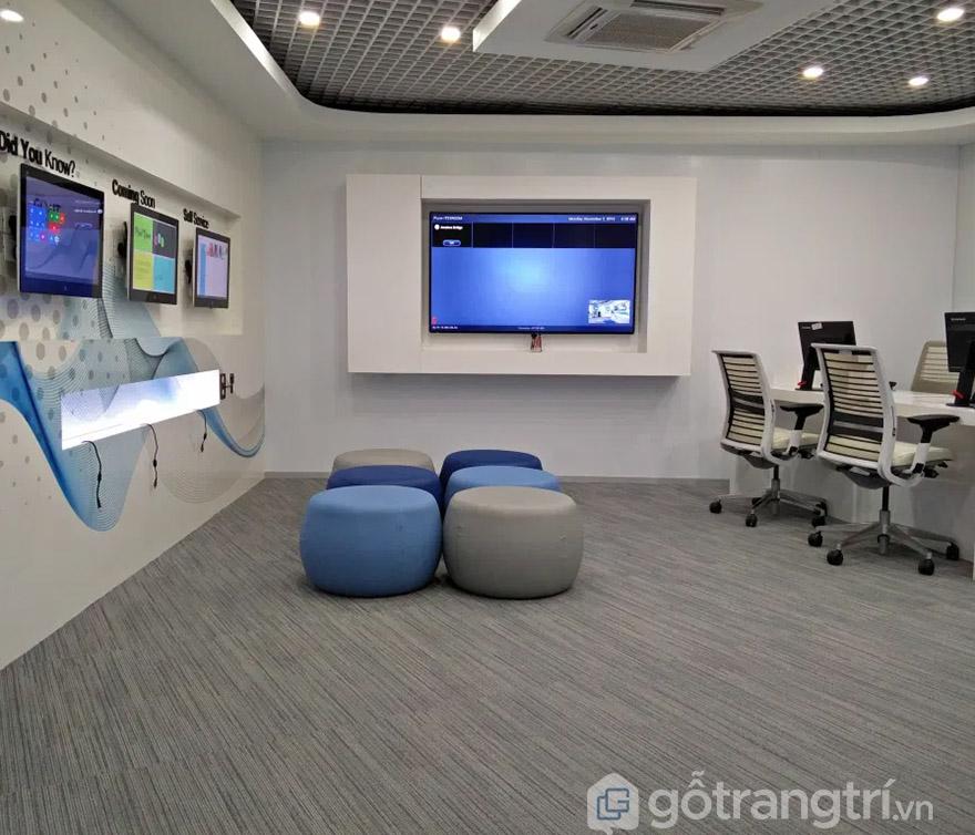thảm cuộn trải sàn văn phòng