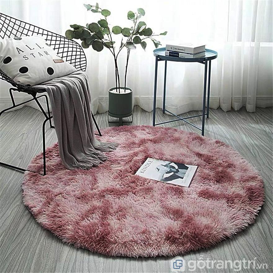 Thảm lông xù cao cấp