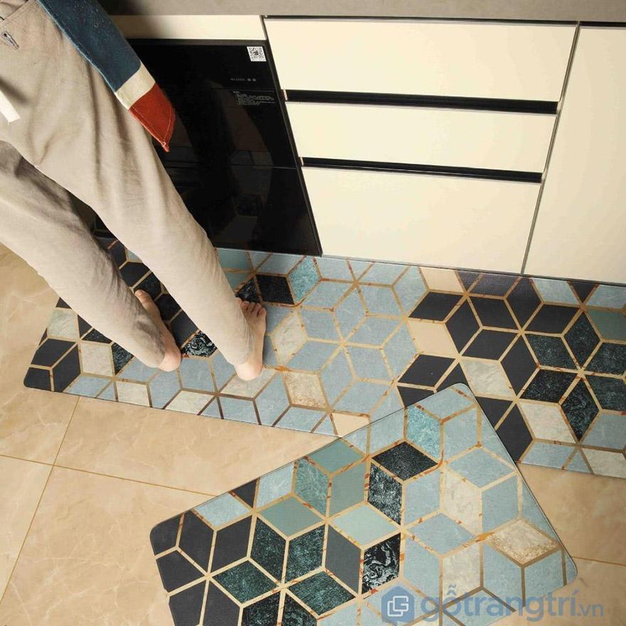 thảm lót sàn nhà bếp