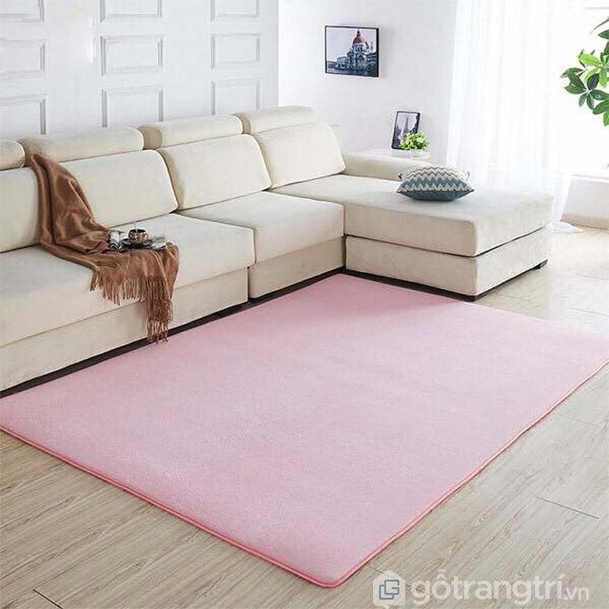 thảm nỉ trải sàn phòng khách