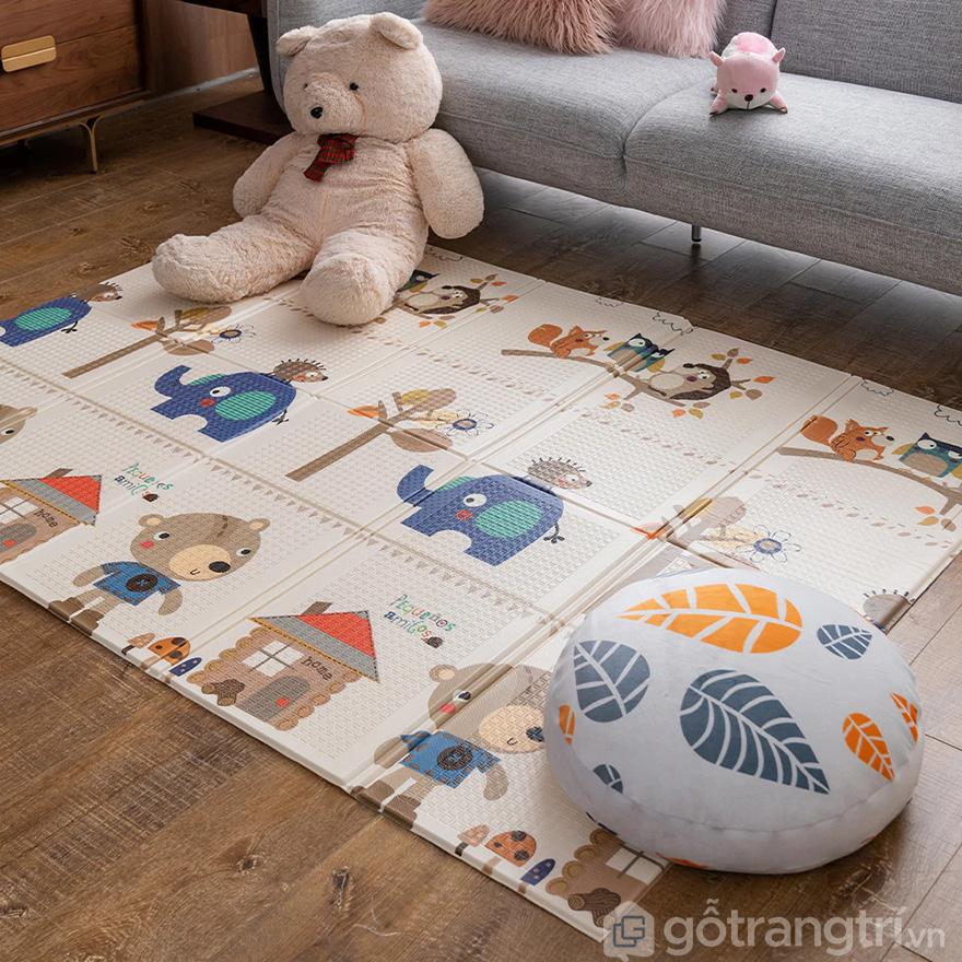 Thảm trải sàn cho bé chơi