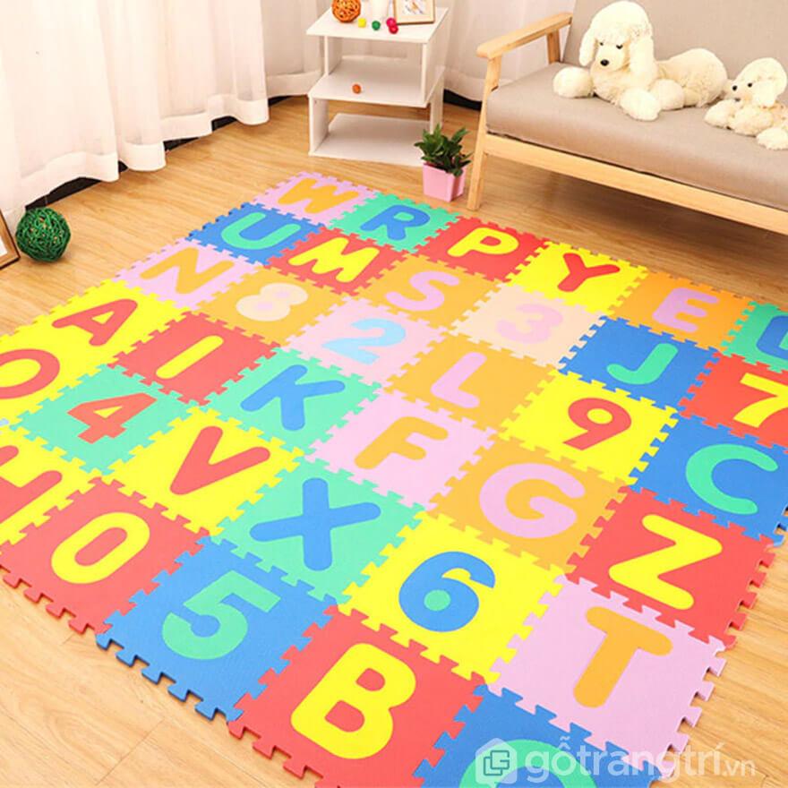 thảm trải sàn cho bé loại nào tốt