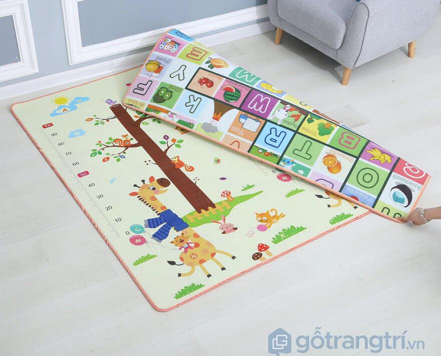 thảm trải sàn cho bé tập bò