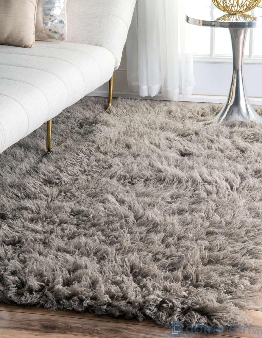 Thảm trải sàn lông cừu