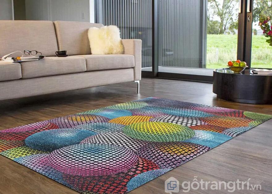 thảm trải sàn trang trí phòng ngủ