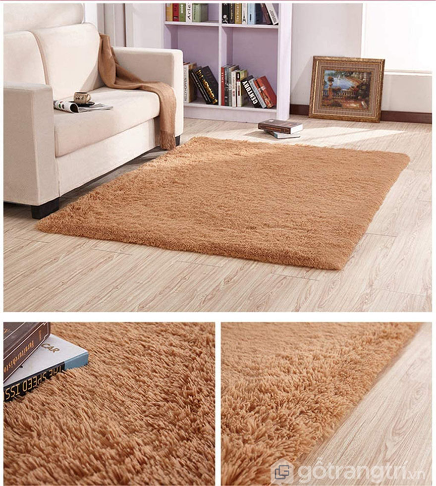 Thảm trải sàn trang trí sofa