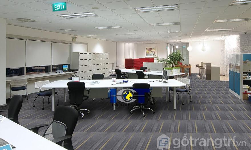 Thảm trải sàn văn phòng tại Hà Nội