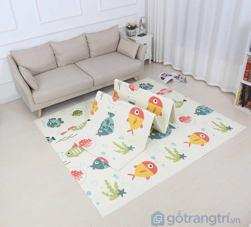 thảm trải sàn xốp 2 mặt