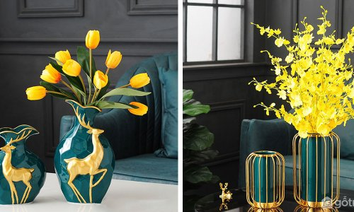 Các loại bình cắm hoa đẹp