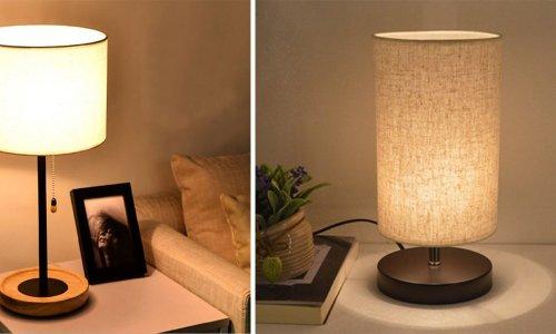 Những mẫu đèn ngủ để bàn đẹp nhất định phải sở hữu