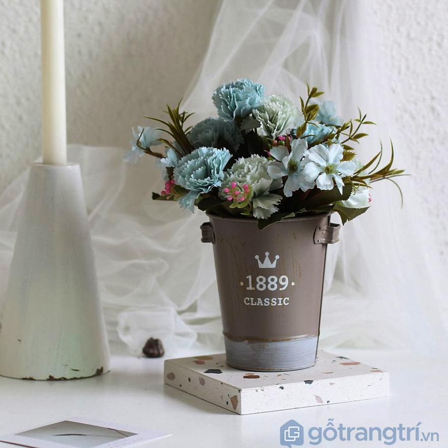 Bó hoa giả