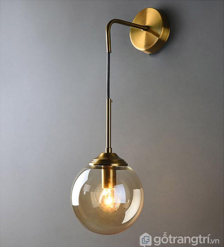 Các loại đèn treo tường phòng ngủ