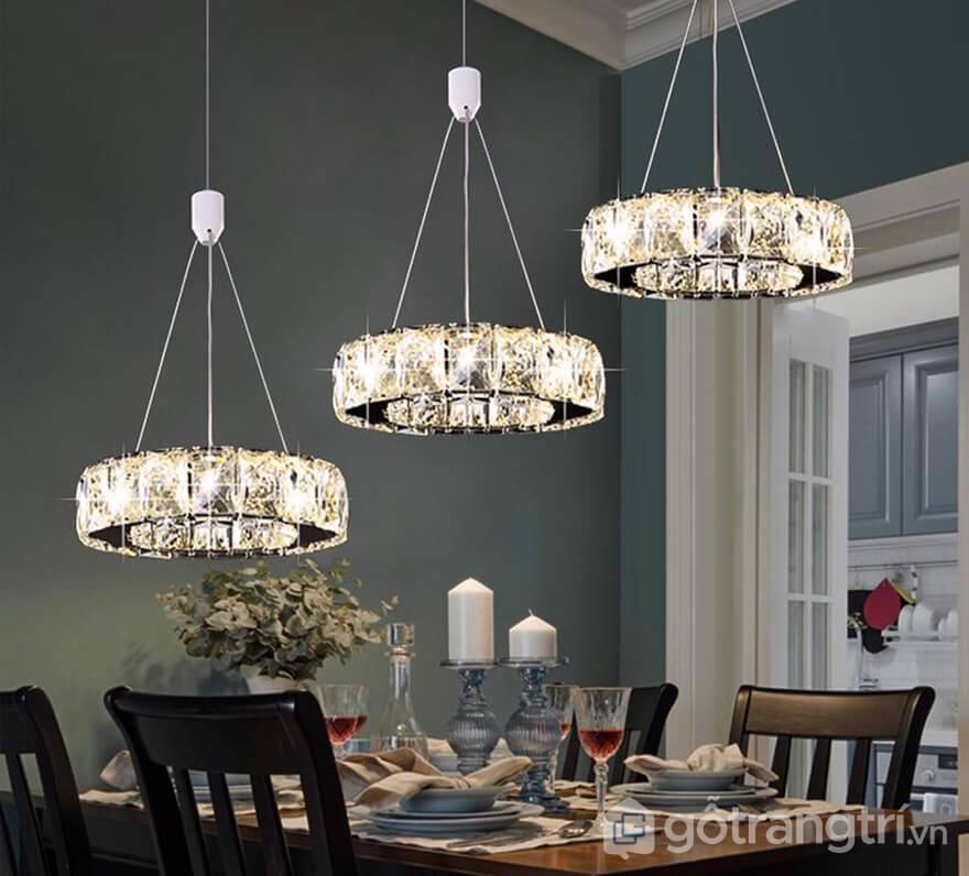 Các mẫu đèn thả bàn ăn đẹp