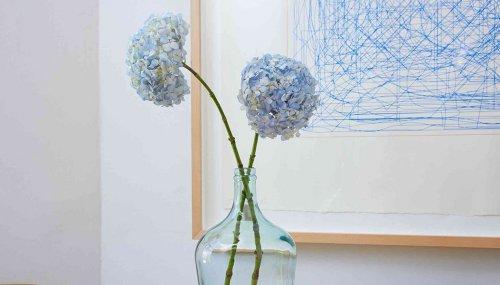 cây hoa giả trang trí trong nhà