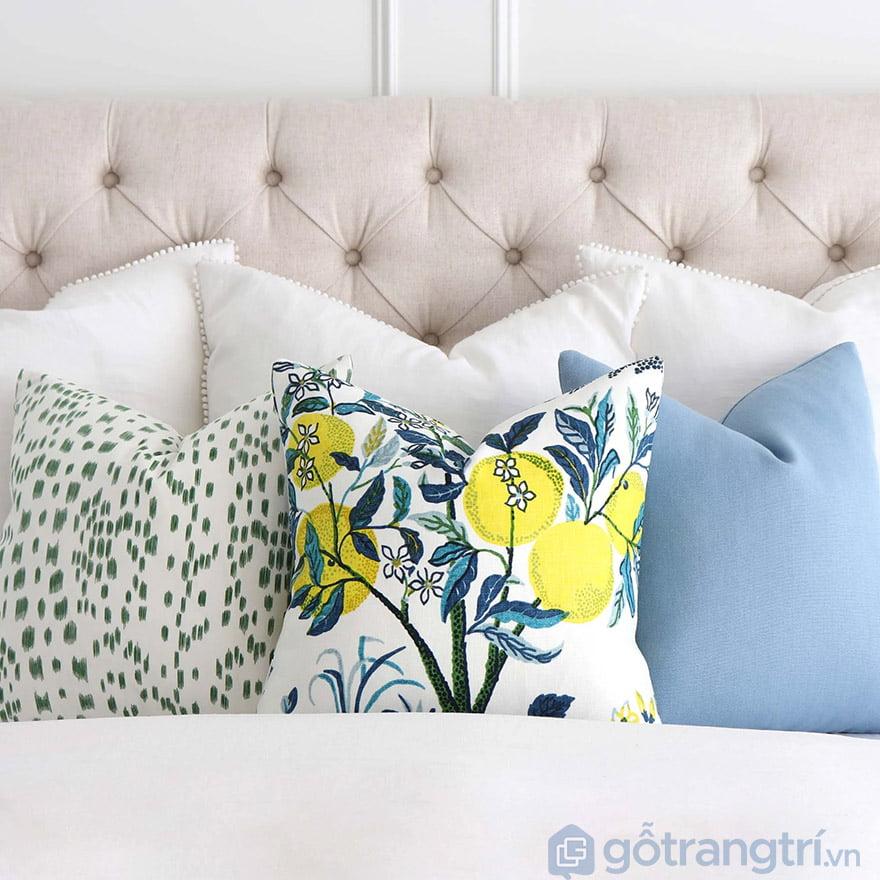 gối sofa nhiều màu