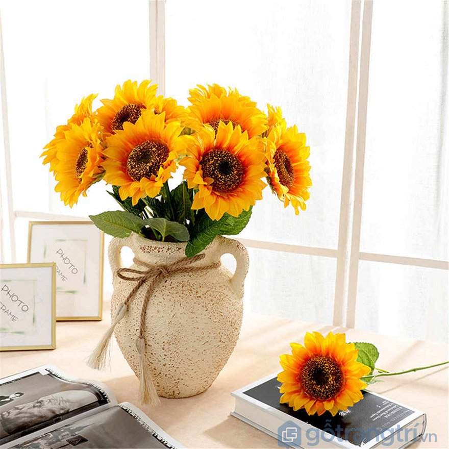 hoa giả trang trí hcm