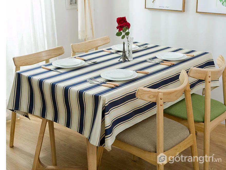khăn trải bàn bán ở đâu