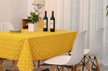 khăn trải bàn decor