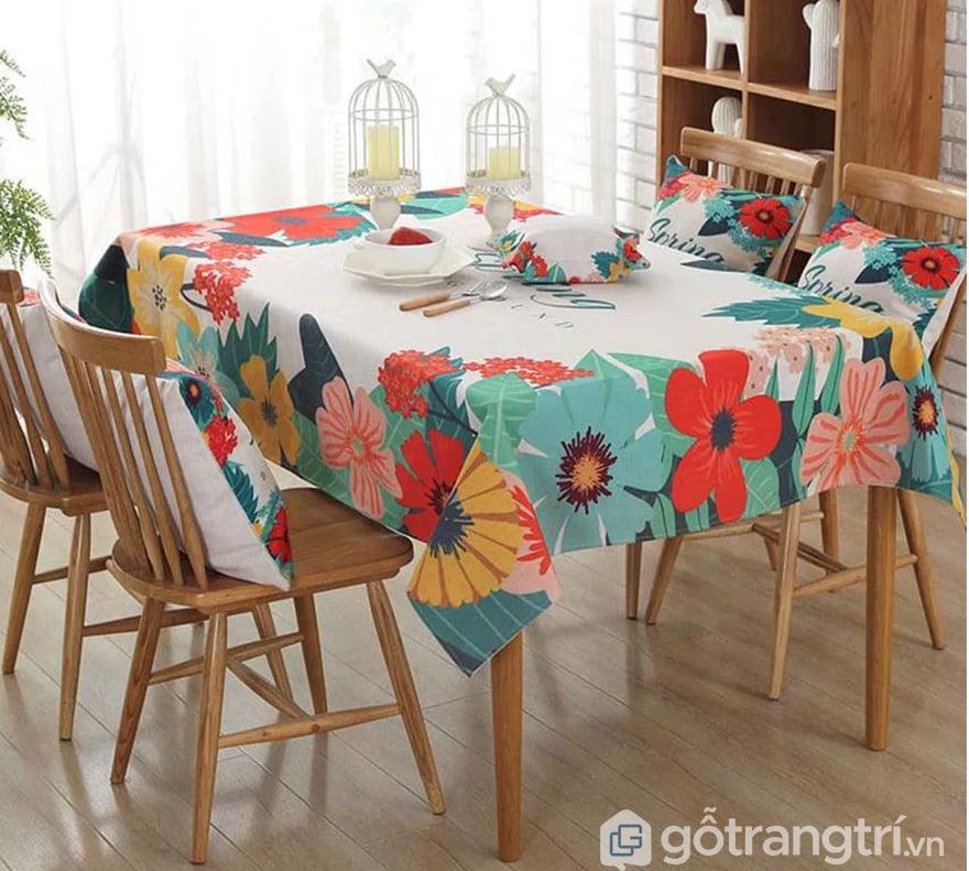 khăn trải bàn đẹp