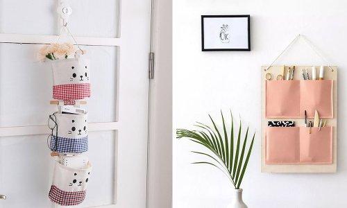 cách làm túi vải bố treo tường