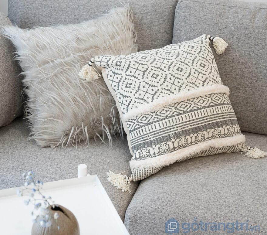 Gối để ghế sofa mua ở đâu?