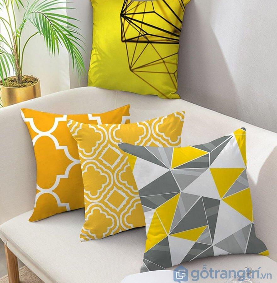 Gối vuông tựa lưng sofa